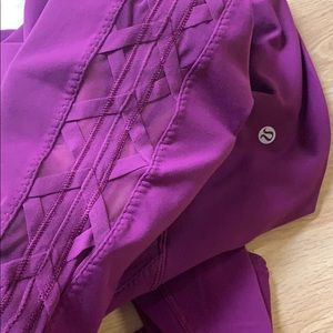 Lululemon High Times HW 7/8 Leggings Sz 6